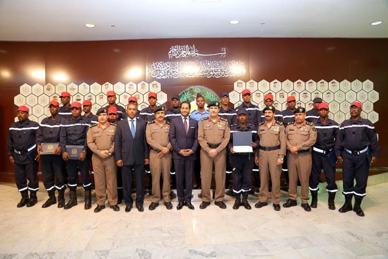 دورة الدفاع المدني جيبوتي