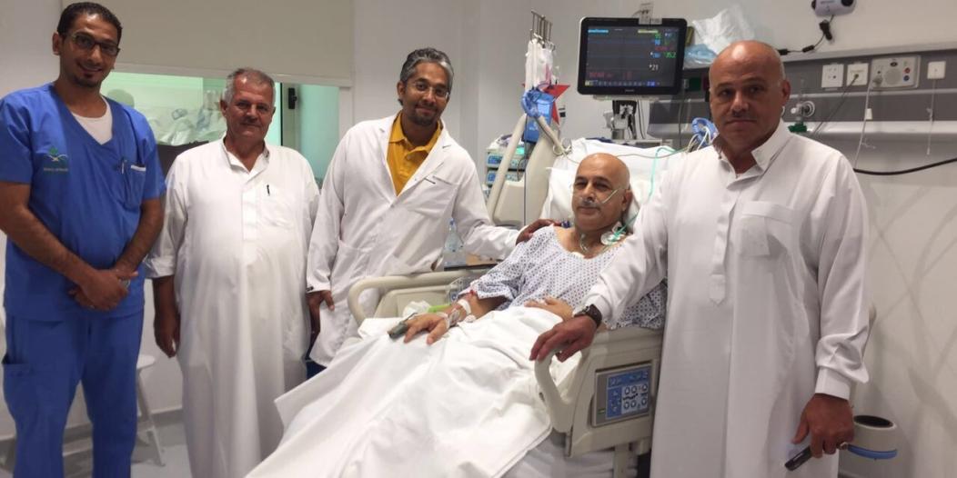 عملية قلب مفتوح عاجلة لحاج فلسطيني بمجمع الملك عبدالله الطبي بجدة