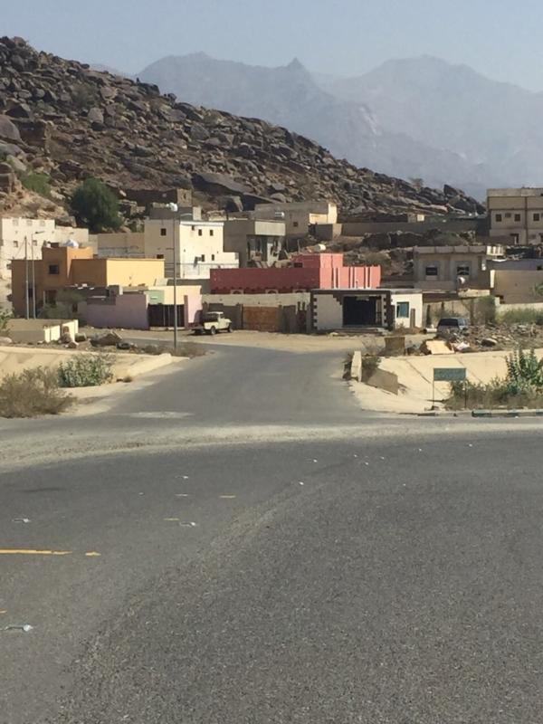 بالصور.. تقاطع يهدد سلامة أهالي قرية الزراب بالعرضيات