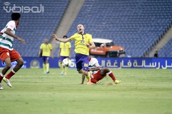 """""""المواطن"""" ترصد بالصور مباراة النصر ونجران في أولى جولات دوري جميل"""