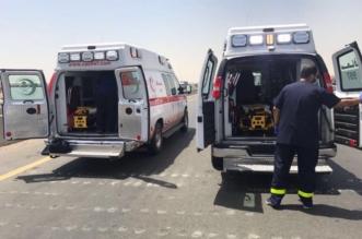 حريق شاحنة وإصابة قائدها بطريق الرياض - الطائف - المواطن