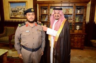 فيصل بن خالد يقلد اللواء السبيعي رتبته الجديدة - المواطن