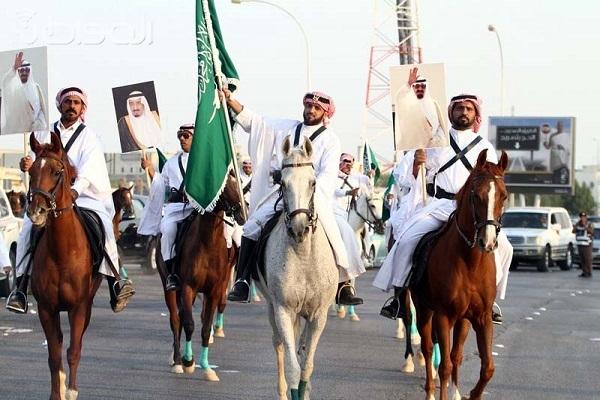 الاحتفالات باليوم الوطني تعم مناطق السعودية
