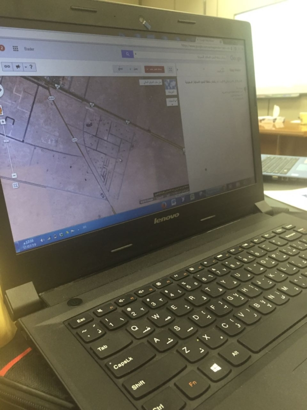 بدأ فكرته قبل ٣ سنوات ؛ بدر العنزي رسم طرق رفحاء في خرائط الموقع العالمي Google