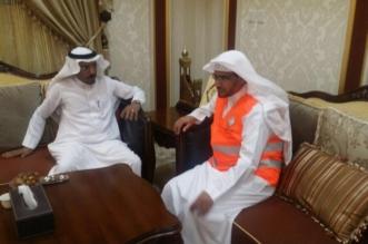 بالصور .. الشيخ المغامسي ينضم لهيئة الهلال الأحمر بالمدينة كمتطوع