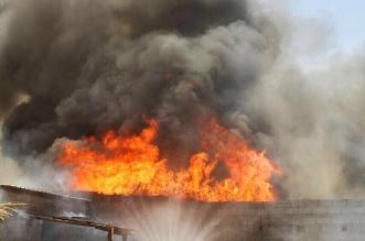 بالصور.. مدني حائل يخمد حريقًا بحظيرة أغنام وتحقيقات لمعرفة أسبابه - المواطن