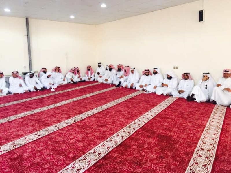 حفل المعايده لمنسوبي مكتب التعليم بخميس مشيط