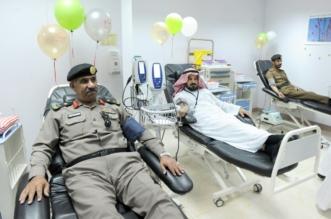 بالصور.. أكثر من 100 متبرع في حملة دماؤنا فداء لجنودنا في عسير - المواطن