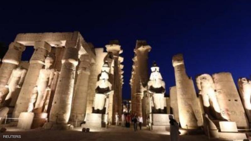 معبد الاقصر بجنوب مصر بصورة التقطت يوم 30 ابريل نيسان 2014. تصوير: محمد عبدالغني - رويترز