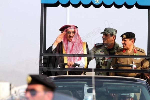محمد بن نايف يستعرض القوات المشاركة في الحج - المواطن