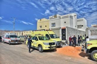 وفاة عامل خنقا وإصابة آخر  داخل خزان ارضي في #حائل