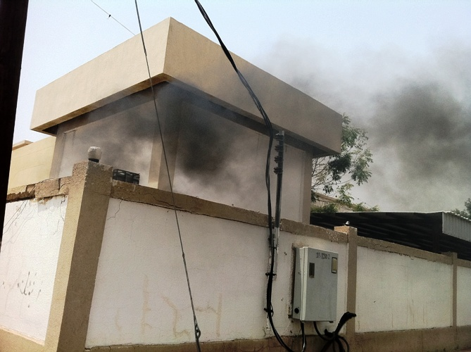 انفجار كيبل كهربائي موصل لمبنى بمحافظة بارق - المواطن