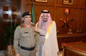 أمير عسير يقلد القحطاني رتبته الجديدة - المواطن