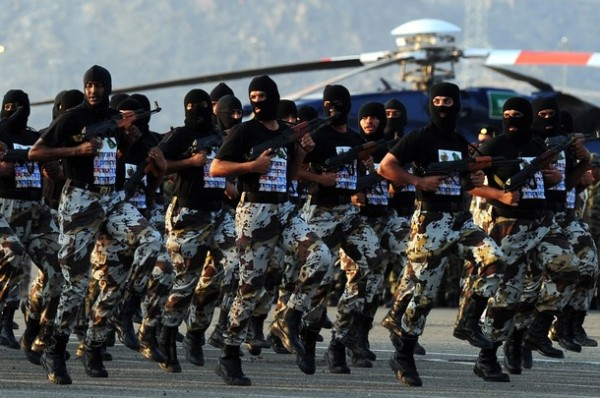 Saudi special forces show their skills d