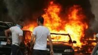 انتحاري يستهدف حاجزاً لحزب الله في لبنان ويوقع قتلى