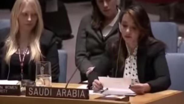 #منال_رضوان أول سعودية تمثل بلدها بـ #مجلس_الأمن تثير جدلاً