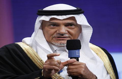 رئيس المخابرات السعودية الأسبق، الأمير تركي الفيصل