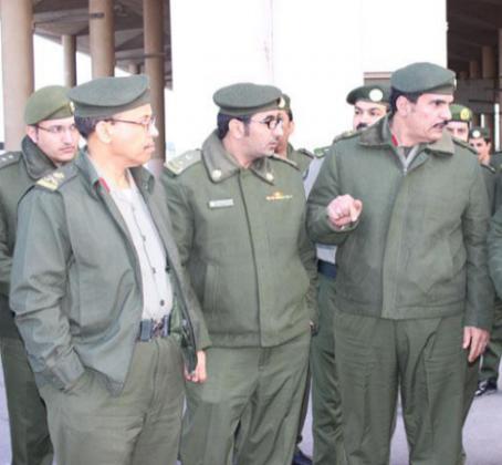 اللواء ضيف الله الحويفي مدير عام جوازات المنطقة الشرقية استعدادات منفذ الخفجي لاستقبال الحجاج