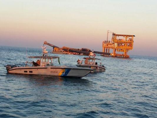 دوريات البحث واﻹنفاذ البحرية التابعة للحرس الحدود بمحافظة الخفجي