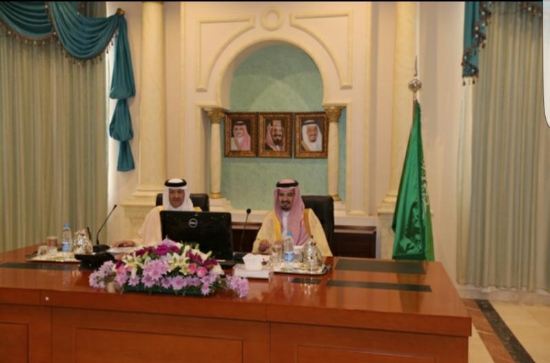 امير الجوف مع سلطان بن سلمان بن عبدالعزيز