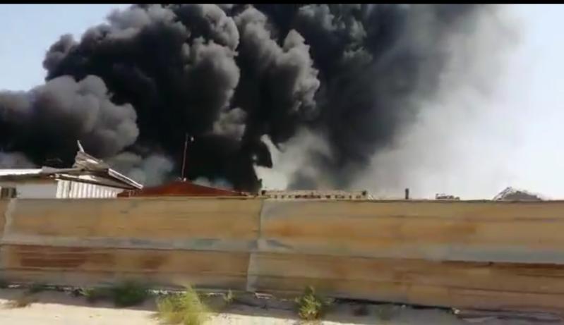 مدني الشرقية يسطر علي حريق مخلفات الورق والبلاستيك دون أصابات بسيهات