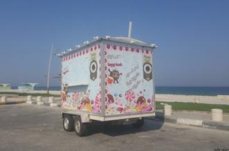 ترخيص أول عربة متنقلة لبيع الأغذية في الخفجي - المواطن