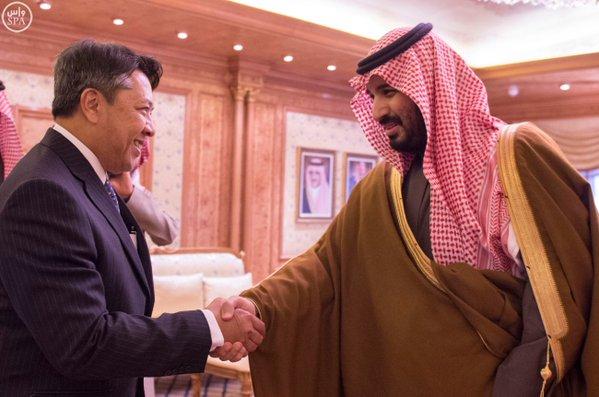 اجتماع ثنائي بين محمد بن سلمان ونائب وزير دفاع سلطنة بروناي