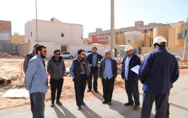 """كهرباء #البكيرية تنفذ حملة تحت شعار """"جهود شاملة لشبكة آمنة"""""""