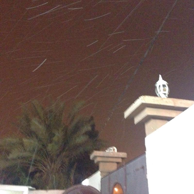 شاهد.. بداية تساقط الثلوج على #العويقيلة