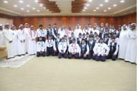 مدير جامعة الشمالية يكرم طلاب الكشافة المشاركين في أعمال الحج