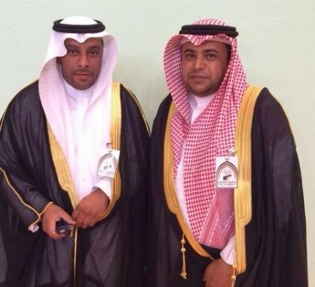 """احتفال بتخريج """" خالد"""" و""""ماجد"""" الثبيتي"""