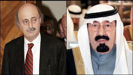 الملك عبدالله / وليد جنبلاط
