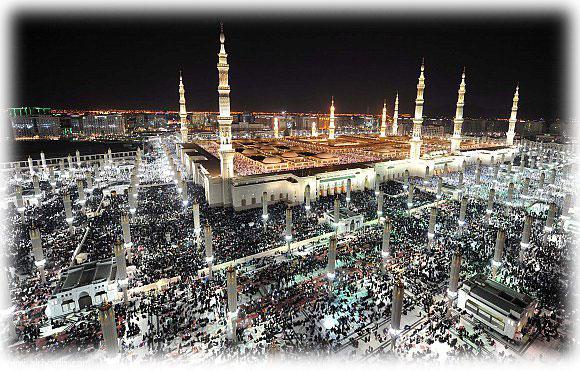المسجد النبوي = التراويح