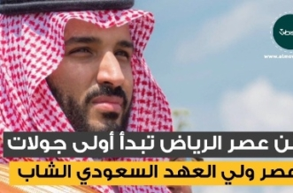 شاهد موشن جرافيك المواطن.. أولى جولات ولي العهد - المواطن