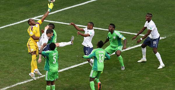 فرنسا ونيجيريا