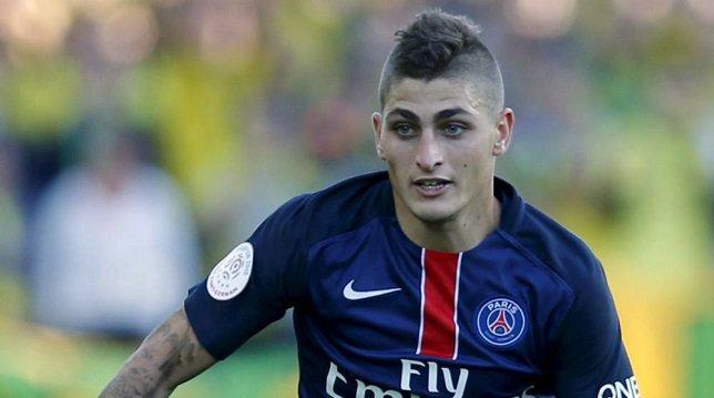 فيراتي لاعب باريس سان جيرمان