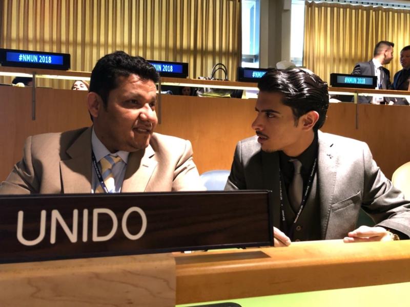 طلاب قانون اليمامة يشاركون في مؤتمر NMUN بنيويورك ويزورون الأمم المتحدة - المواطن