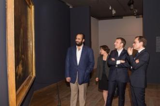 بالصور.. جولة ولي العهد والرئيس الفرنسي في متحف اللوفر - المواطن