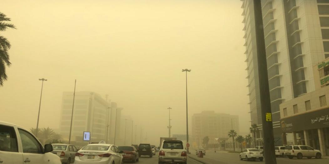 الزعاق: الرياح المتربة ستلف هذه المناطق يومي الجمعة والسبت