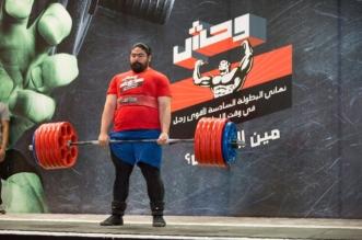 بالصور.. السعيد أقوى رجل في المملكة 2018 - المواطن