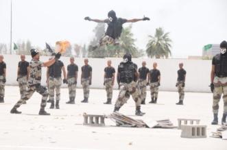 بالصور.. عروض مبهرة لـ340 طالبًا من الطوارئ الخاصة بحضور الفريق الحربي - المواطن