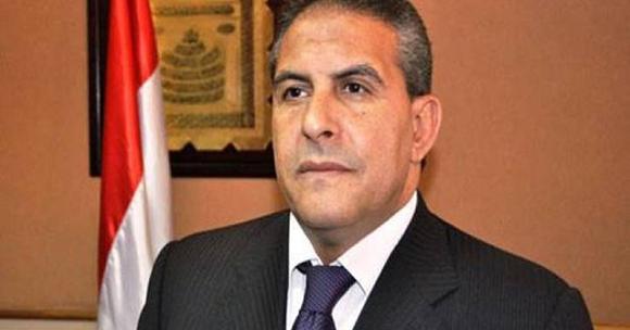 وزير الدولة لشؤون الرياضة طاهر أبو زيد