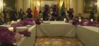 حفل عشاء الوليد بن طلال بباريس على شرف ملك البحرين حمد بن عيسى
