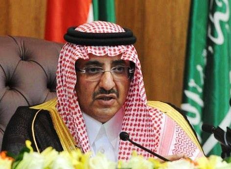 وجه الأمير محمد بن نايف بن عبدالعزيز