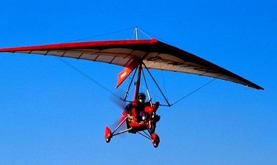 طائرة شراعية