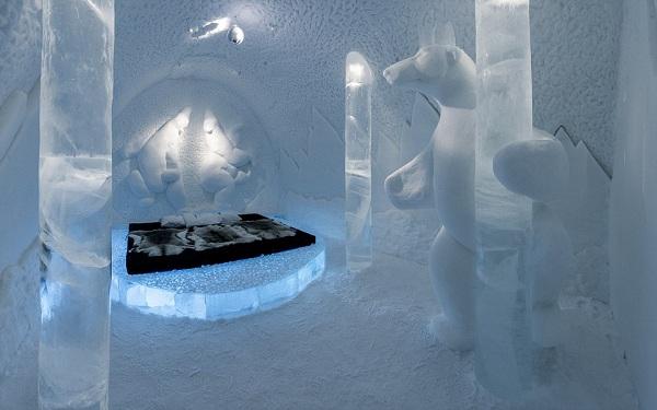 أغلى غرفة فندق بالعالم مصنوعة من الجليد - المواطن