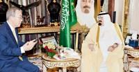 بان كى مون والملك عبدالله