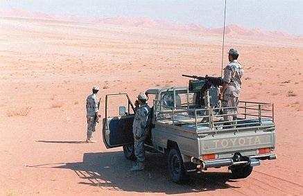 الحدود السعودية - حرس الحدود
