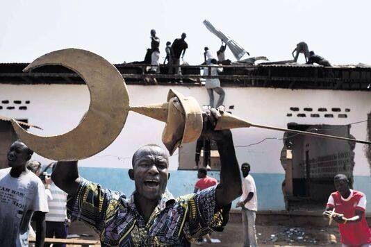 """مساجد """"إفريقيا الوسطى"""