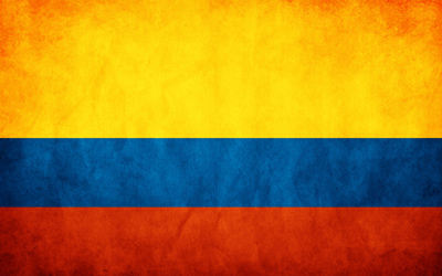 colombia flag - كولومبيا